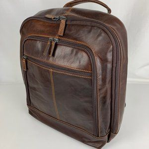 New Jack Georges Voyager Leather Backpack 7516